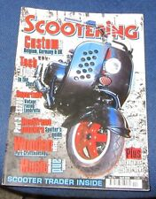 SCOOTERING MAGAZINE APRIL 2009 - CUSTOM SHOWS/SMALLFRAME SCOOTERS