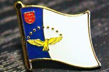 AZORES Metal Flag Lapel Pin Badge *NEW*