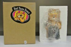 RARE BOXED BAD TASTE BEAR FOR SEPTEMBER 2004 - SAM (LIGHTER BELT) - NO 91.