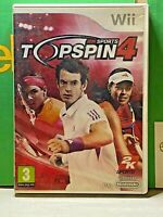 Nintendo-Wii-Top Spin 4 Box & Manual ONLY-No Game Included-Empty-Pal-3+