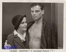 June Clyde Norman Foster barechested VINTAGE Photo Steady Company