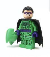 Onlinesailin Custom Riddler Batman Lego Minifigure