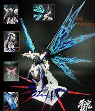 DRAGON_MOMOKO- BANDAI MG STRIKE FREEDOM GUNDAM-MB modeling-Alloy coloring-Silver
