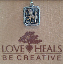 Love Heals Be Creative Mixed Metal Griffin Crest Charm RARE - NEW retails $45.00