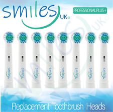 Electric Toothbrush Heads Compatible With ORAL B BRAUN Made By SMILES UK 4 8 12