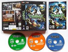 TMNT Teenage Mutant Ninja Turtles (PC, 2007) COMPLETE VIDEO GAME ORIGINAL