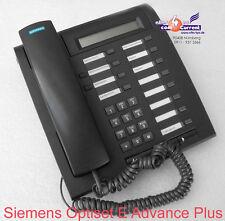 SIEMENS OPTISET E ADVANCE PLUS S30817-S7006-A108-2 SCHWARZ ISDN SYSTEMTELEFON
