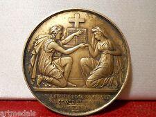 1861 Historical Silver Marriage Saint Matthew Medal Token Wedding