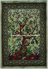 Mandala Del Árbol Indio De Vida Pared Cuelgan Tapices Tiro Decoración Arte Étnic