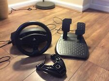 THRUSTMASTER T80 RACING STEERING WHEEL AND PEDALS FOR SONY PLAYSTATION PS3 / PS4