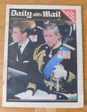 historic newspaper - Queen Mother's Funeral - Daily Mail - Weds 10 April 2002