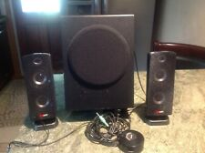 GIGAWARE*40-286 2.1 Multimedia Computer system 2 Speakers and subwoofer