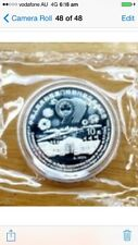 1999 china 3rd issue Macau return to china silver coin