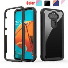 For LG Phoenix 5/Aristo 5/K31/K8X Case Shockproof TPU Bumper Clear Phone Cover