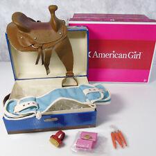 NEW American Girl Doll Nikki Nicki's Horse JACKSON TACK BOX Saddle Bags Brush