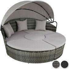 Poly Rattan Sonneninsel Sonnenliege Sitzgruppe Garten Garnitur Lounge Insel