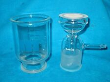 Millipore 300ml Funnel & 47mm Fritted Vacuum Filtration 40/35
