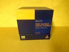 14-CD BOX BACH 2000 TELDEC DAS ALTE WERK VOLUME 6/ BACH - THE SACRED VOCAL WORKS