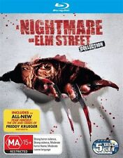 A Nightmare On Elm Street  - Complete Collection (Blu-ray, 5 Disc Set) 6 Movies