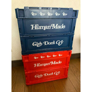 CONTAINER 20L HUMAN MADE Girls Don't Cry NAVY RED GDC Collection 2set