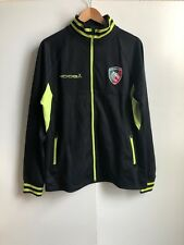 Kooga Leicester Tigers Rugby Men's Club Training Jacket - Large - Black - New