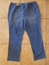 Coldwater Creek Women 18 Classic Straight Leg Shaping Jeans NWT 79.95 Blue Pants