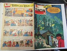 Tintin Numéro 546 du 9 Avril 1959 (Chèque Tintin,Couverture Will,Cap sur Mars