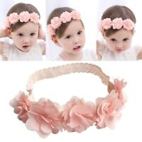 Hot Toddler Baby Girl Headband Lace Bow Flower Infant Hair Band Accessories