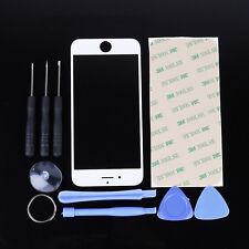 Frontglas für iPhone 7 Ersatzglas Touchscreen Display Glas weiß Reparaturset Pad