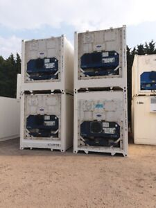 refrigerated container new and used 10ft/40ft/20ft x 8ft parts warranty plus vat
