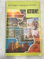 Vintage 1970's Utah Travel Guide Booklet