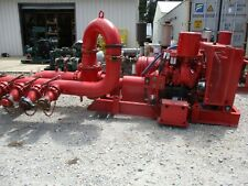 Detroit Diesel Driven Pumping Unit Withg R Pump New Battery Hrs7757 731236k Used