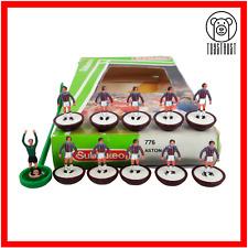 More details for aston villa subbuteo team ref 776 vintage table football soccer toy lw u1