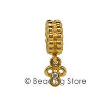 NEW Pandora 14k Gold Diamond Flower Pendant Dangle Charm 14ct 750407D RRP $579