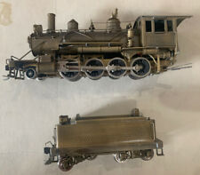 UNITED/PACIFIC FAST MAIL HO 'BRASS 2-8-0 Steam Locomotive'- Ma & Pa NIB