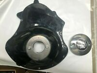 Harley Davidson Left Engine Cover 25907-04K 10 YEAR V-ROD COVER COMBO