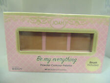 """1-Joah """"Be My Everything"""" Buildable, Blendable Powder Contour 3 Powder Palette"""