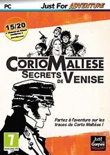 CORTO MALTESE  SECRETS DE VENISE   --- JEU NEUF POUR PC