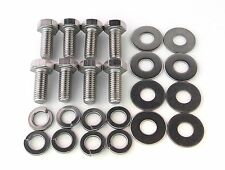 Stainless Steel SUMP GUARD Bolt Kit - PAJERO / SHOGUN
