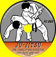 JU-JITSU SUPERB TRAINING RESOURCE PC DVD 2HRS+ OF DETAILED VIDEO TUTORIAL  NEW