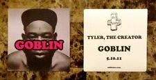 TYLER THE CREATOR Goblin Ltd Ed RARE Sticker! ODD FUTURE OFWGKTA Flower Boy Wolf