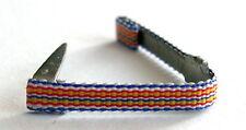 Rappel barrette boutonnière ruban pour médaille d'honneur des SAPEURS POMPIERS.