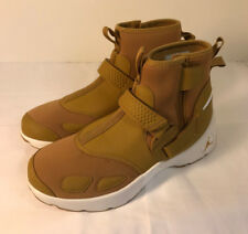 081ce8344fd Nike Air Jordan Trunner LX High Golden Harvest Shoes size 9