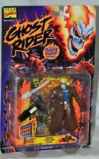 Ghost Rider Blaze figure Flame Glow Details MOC ToyBiz 1996 Marvel Comics
