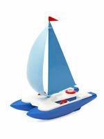 Baby boat bath toy plastic catamaran kids educational