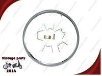 "7"" LUCAS TYPE HEADLAMP RIM & FIXING KIT 99-0692A FITS BSA NORTON TRIUMPH AJS"