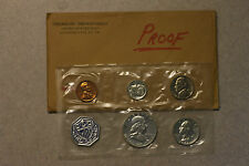 1962 U.S. Mint Silver PROOF Set, Excellent Condition, Original Package, Free S/H