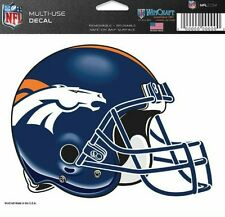 NFL Denver Broncos Helmet Decal by WinCraft Sports