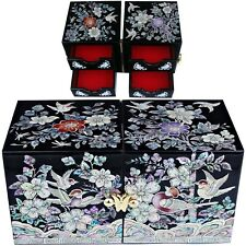 ewelry box Jewelry Organizer Holder Women Gift Items Mother Of Pearl 116