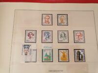Sammlung Berlin 1964-1989 mit ATM postfrisch fast komplett im Lindner Ringbinder